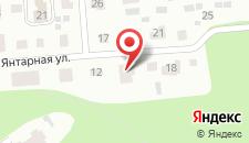 Гостевой дом Янтарная на карте