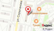Апартаменты CityLife Каскад на карте