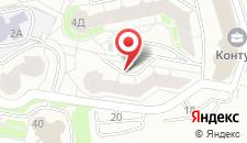 Апартаменты Каскад на карте