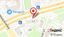 Апартаменты на Машерова 51 на карте