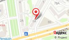 Апартаменты АБВ Гвардейская на карте