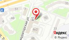 Отель У фонтана на карте