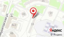 Апартаменты Бетховен на карте