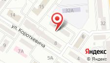 Апартаменты Короткевича 10 на карте