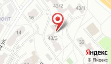 Апартаменты на Победителей 43/3 на карте