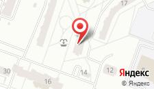 Апартаменты Апартаменты ДомМинск На Заславской на карте