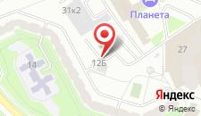 Апартаменты Aparton Заславская, 12 на карте