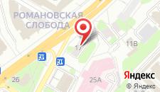 Апартаменты Шведская Студия на Улице Мясникова на карте
