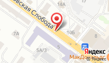 Апартаменты Романовская Слобода на карте