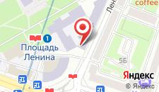 Апартаменты Vip-kvartira 4 на карте