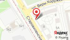 Апартаменты АБВ Старовиленский тракт 10 на карте