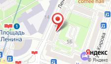 Апартаменты Апартаменты на Ленинградской на карте