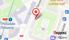 Апартаменты Vip-kvartira Center на карте