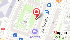 Апартаменты Vip-kvartira Kirova 3 на карте