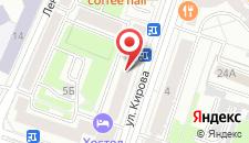 Апартаменты на Кирова на карте