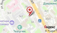 Апартаменты Центр Минска на карте