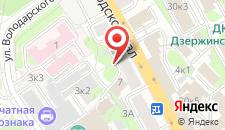 Апартаменты Aparton Городской Вал 9 на карте