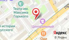 Апартаменты Vip-kvartira Nezavisimosti 13 на карте