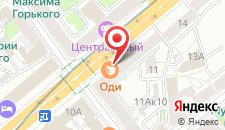 Апартаменты Luxury Minsk на карте