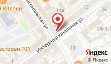 Отель Гарни на карте