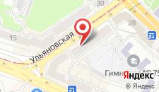 Апартаменты Ульяновская 39 на карте