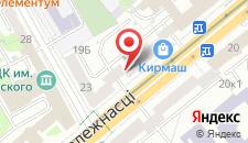 Апартаменты Hospitality GUM на карте