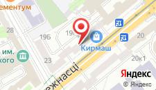 Апартаменты Vip-kvartira Nezavisimosti 19 на карте