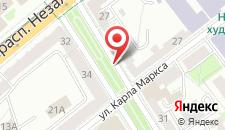 Апартаменты Karl Marx на карте