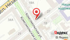 Апартаменты Престиж на карте