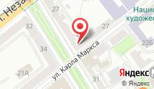 Апартаменты Aparton улица Карла Маркса на карте