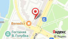 Апартаменты Molnar Богдановича 23 на карте