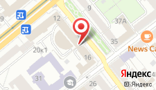 Апартаменты Minsklux на карте