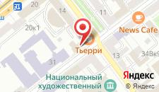 Апартаменты Апартаменты Дарья на улице Маркса на карте
