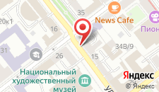 Апартаменты Vip-kvartira Lenina 15A на карте