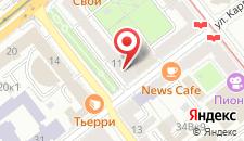 Апартаменты Natali Apartments на карте