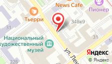 Апартаменты Апартаменты RENTAMinsk.com на карте