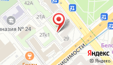 Апартаменты Vip-kvartira Nezavisimosti 29 на карте