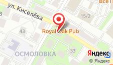 Апартаменты Molnar Apartments Kiseleva 39 на карте