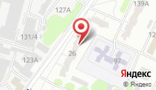 Апартаменты На Веры Хоружай 26 на карте