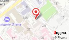 Апартаменты Красноармейская 8 на карте