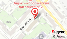 Апартаменты Vip-kvartira на Киселева 13 на карте