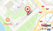 Апартаменты Nana Victory Square на карте