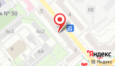 Апартаменты Vip-kvartira Kiselyova 3 на карте