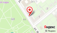 Апартаменты Фрунзе 9 на карте