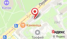Апартаменты рядом с Парком Горького на карте