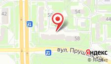 Апартаменты На Прушинских на карте