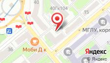 Апартаменты Квартира на Площади Победы на карте