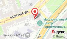 Апартаменты Aparton Красная, 22 на карте