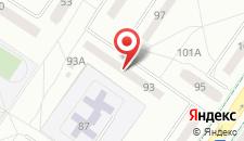 Апартаменты Good на Куйбышева 93 на карте