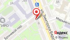 Апартаменты В центре на улице Бядули 6 на карте